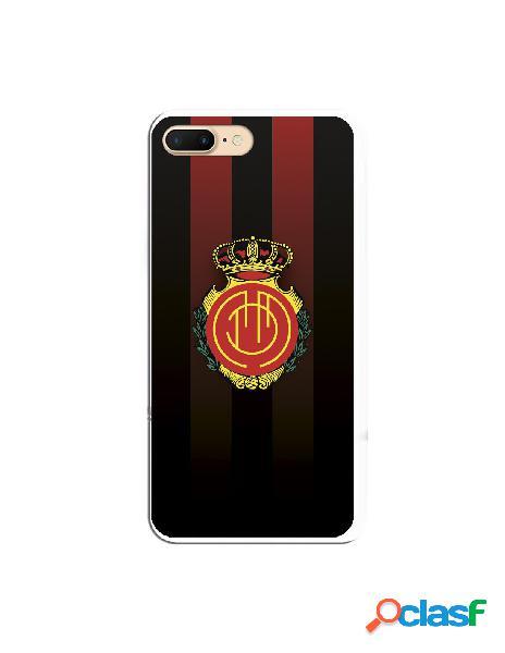 Carcasa Oficial RCD Mallorca escudo equi negra para iPhone 7