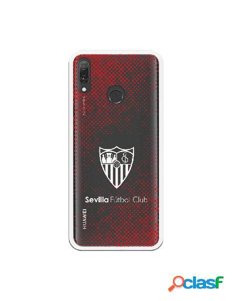 Carcasa Oficial Sevilla Escudo blanco semitono rojo