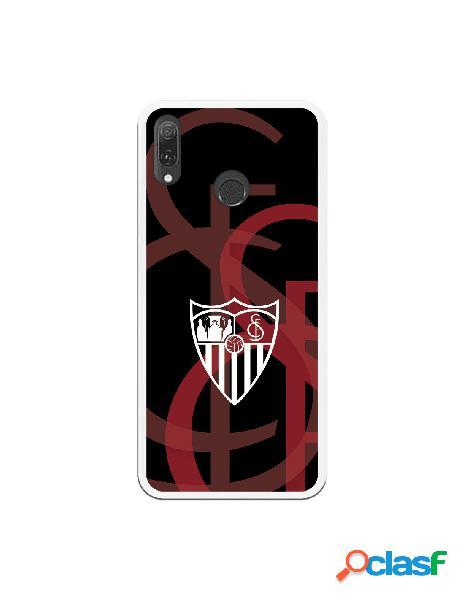 Carcasa Oficial Sevilla escudo blanco fondo escudo para