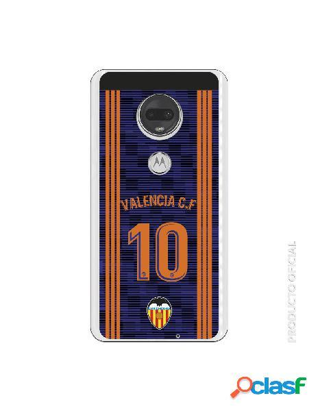 Carcasa Oficial Valencia 10 2a Equipación para Motorola