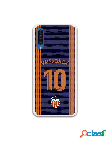 Carcasa Oficial Valencia 10 2a Equipación para Samsung