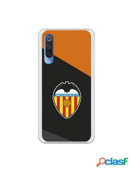 Carcasa Oficial Valencia Escudo Fondo Negro para Xiaomi Mi 9
