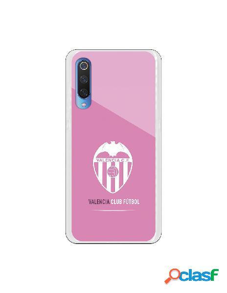 Carcasa Oficial Valencia Escudo Rosa para Xiaomi Mi 9