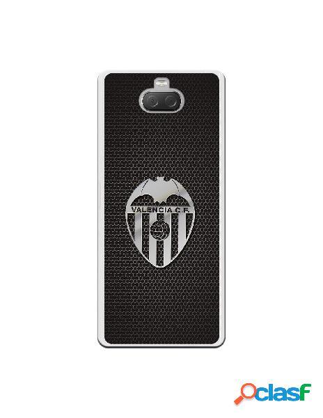 Carcasa Oficial Valencia Escudo plata para Sony Xperia 10