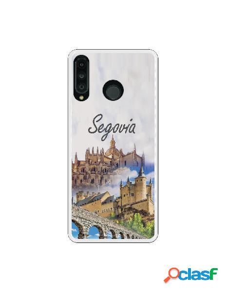 Carcasa Segovia 3 Monumentos para Huawei P30 Lite