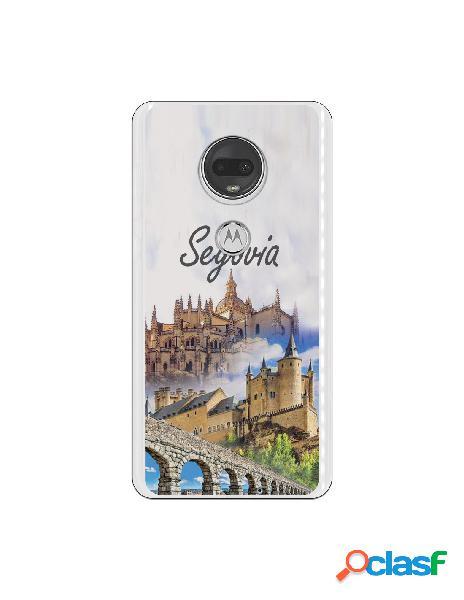 Carcasa Segovia 3 Monumentos para Motorola Moto G7