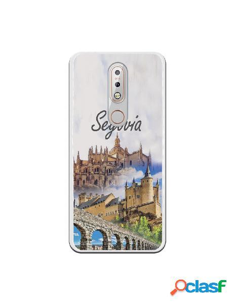 Carcasa Segovia 3 Monumentos para Nokia 7.1