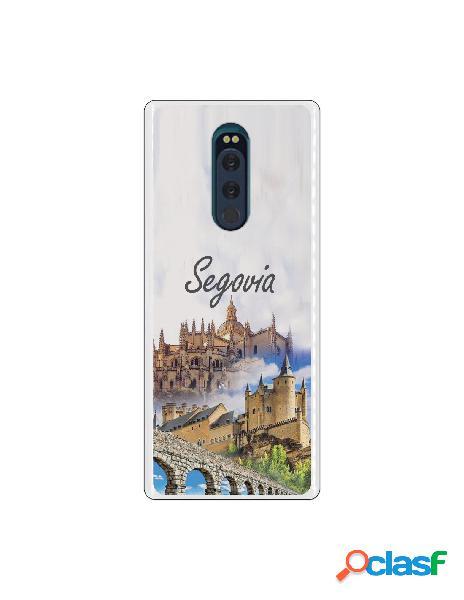Carcasa Segovia 3 Monumentos para Sony Xperia XZ4