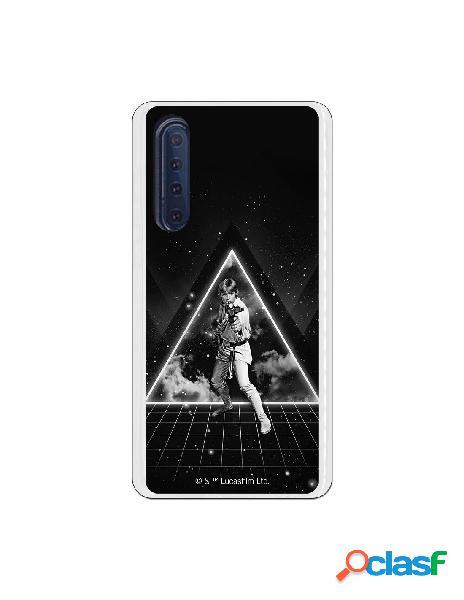 Carcasa Star Wars Luke blanco y negro para Huawei P30