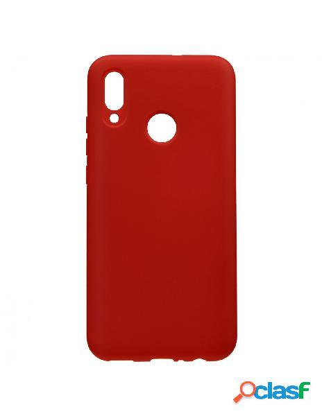 Carcasa Ultra suave Roja para Huawei Y9 2019