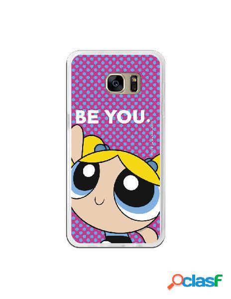 Carcasa de Las Supernenas Be you para Samsung Galaxy S7 Edge