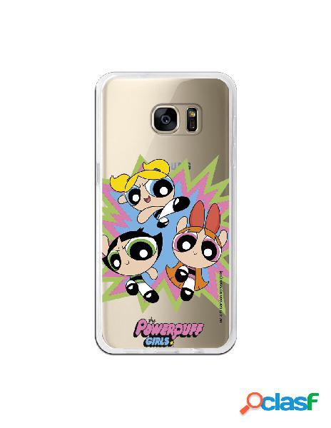 Carcasa de Las Supernenas Boom para Samsung Galaxy S7 Edge