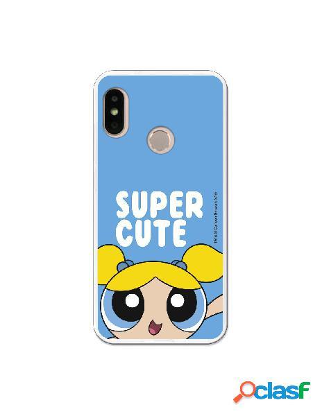 Carcasa de Las Supernenas Burbuja Cute para Xiaomi Mi A2