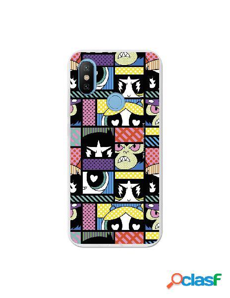 Carcasa de Las Supernenas Comic para Xiaomi Mi 6X