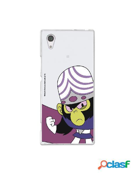Carcasa de Las Supernenas Mojo Jojo para Sony Xperia XA1