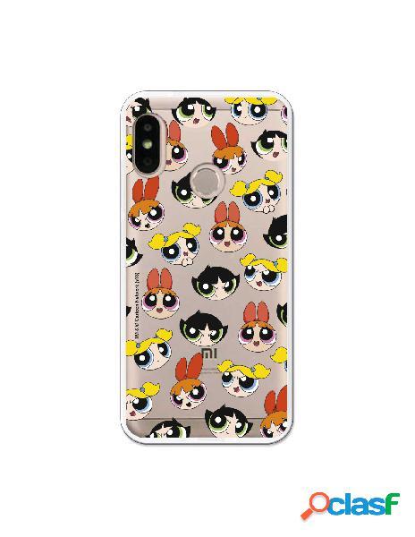 Carcasa de Las Supernenas Pattern para Xiaomi Mi A2 Lite