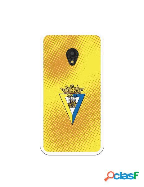 Carcasa para Alcatel U5 4G Cádiz CF Semitono Puntos -
