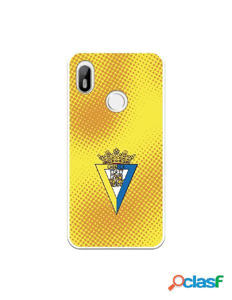 Carcasa para BQ Aquaris C Cádiz CF Semitono Puntos -