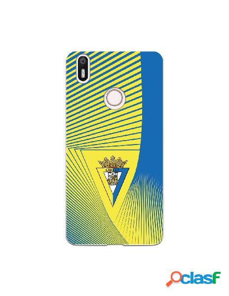 Carcasa para BQ Aquaris X Cádiz CF Motivo Lineal - Licencia
