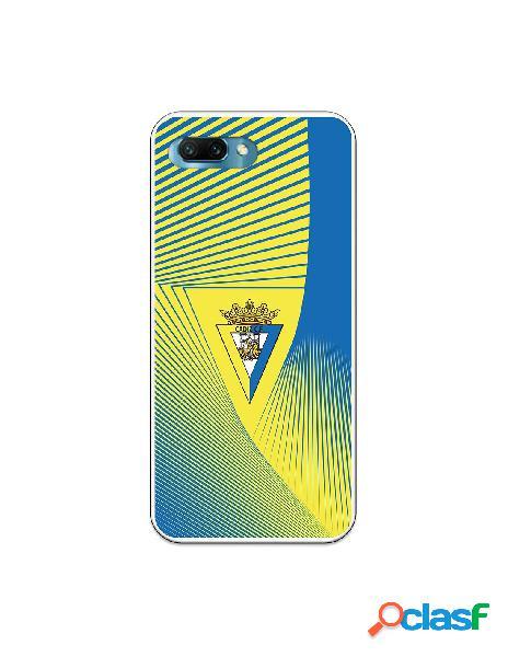Carcasa para Huawei Honor 10 Cádiz CF Motivo Lineal -