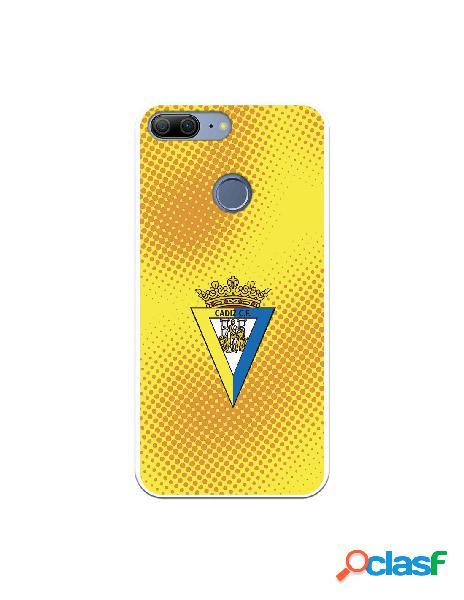 Carcasa para Huawei Honor 9 Lite Cádiz CF Semitono Puntos -