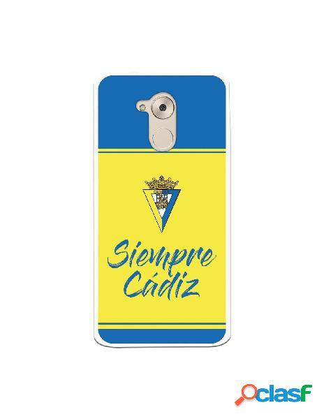 Carcasa para Huawei Nova Smart Cádiz CF Fondo Azul y