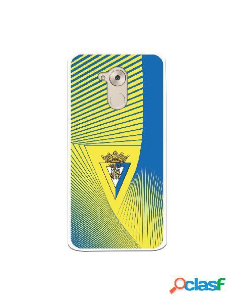 Carcasa para Huawei Nova Smart Cádiz CF Motivo Lineal -