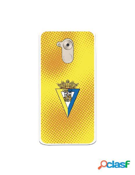 Carcasa para Huawei Nova Smart Cádiz CF Semitono Puntos -