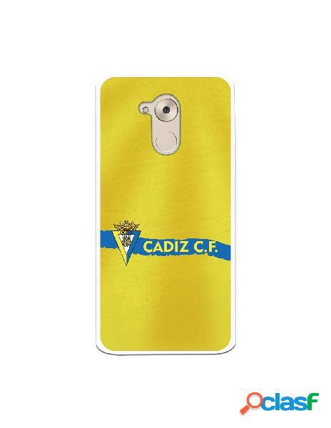 Carcasa para Huawei Nova Smart Cádiz CF Textura sobre