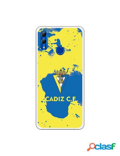 Carcasa para Huawei P Smart 2019 Cádiz CF Manchas Azules -
