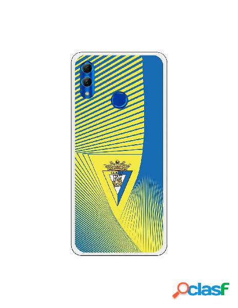 Carcasa para Huawei P Smart 2019 Cádiz CF Motivo Lineal -
