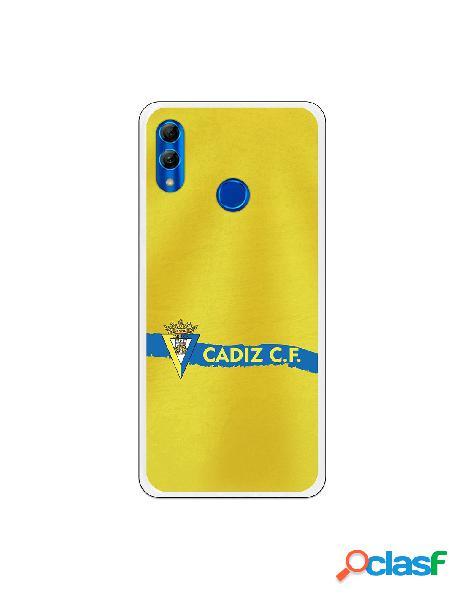 Carcasa para Huawei P Smart 2019 Cádiz CF Textura sobre
