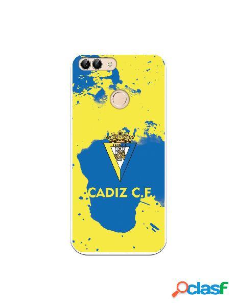 Carcasa para Huawei P Smart Cádiz CF Manchas Azules -
