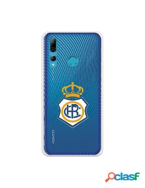 Carcasa para Huawei P Smart Plus 2019 Recre Onda Azul