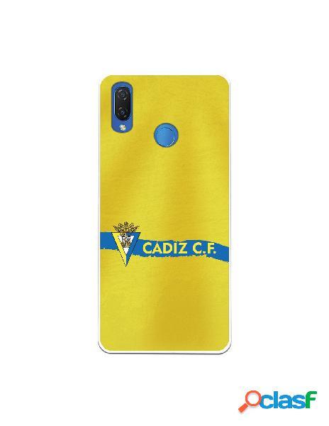 Carcasa para Huawei P Smart Plus Cádiz CF Textura sobre