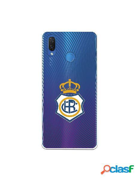 Carcasa para Huawei P Smart Plus Recre Onda Azul