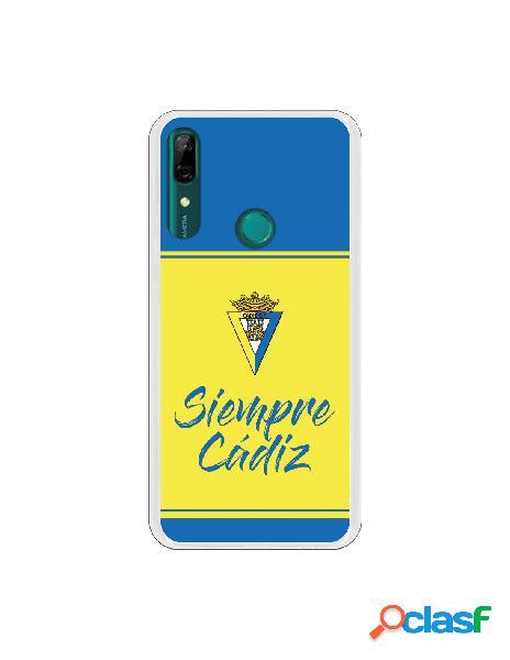 Carcasa para Huawei P Smart Z Cádiz CF Fondo Azul y