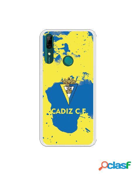 Carcasa para Huawei P Smart Z Cádiz CF Manchas Azules -