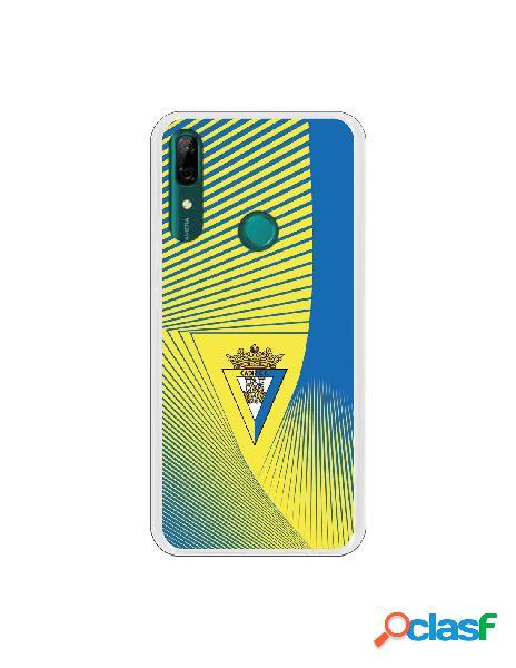 Carcasa para Huawei P Smart Z Cádiz CF Motivo Lineal -