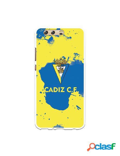 Carcasa para Huawei P10 Plus Cádiz CF Manchas Azules -