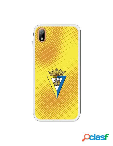 Carcasa para Huawei Y5 2019 Cádiz CF Semitono Puntos -