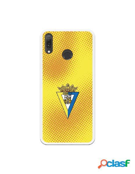 Carcasa para Huawei Y9 2019 Cádiz CF Semitono Puntos -