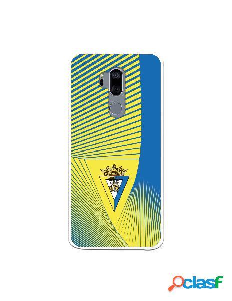 Carcasa para LG G7 Cádiz CF Motivo Lineal - Licencia