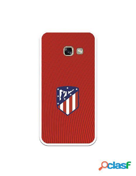 Carcasa para Samsung Galaxy A3 2017 Atlético de Madrid Rojo