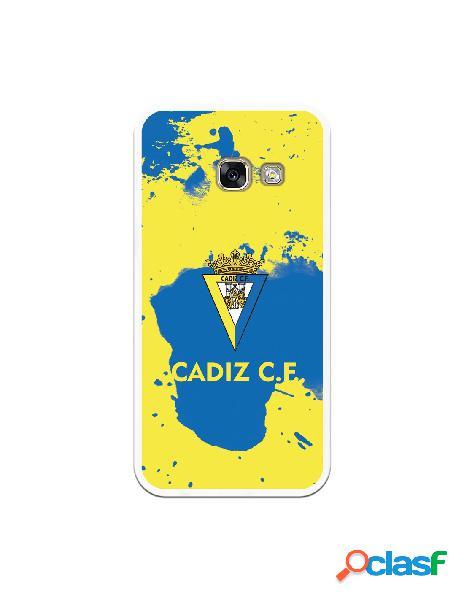 Carcasa para Samsung Galaxy A3 2017 Cádiz CF Manchas Azules