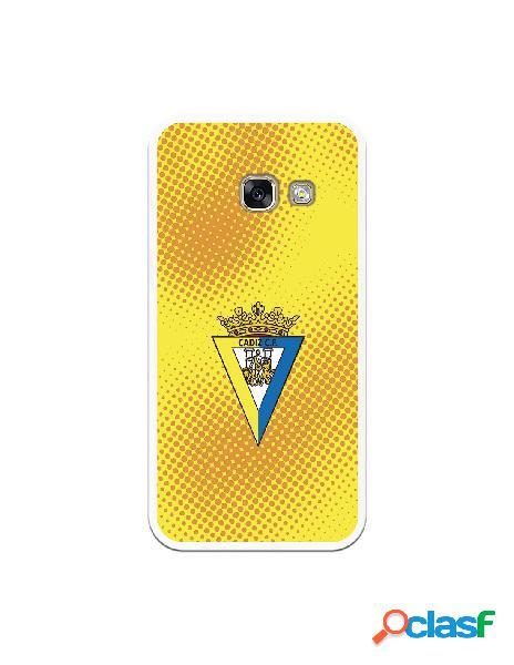 Carcasa para Samsung Galaxy A3 2017 Cádiz CF Semitono