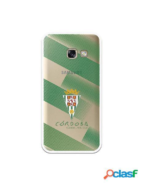 Carcasa para Samsung Galaxy A3 2017 Córdoba CF Trazos