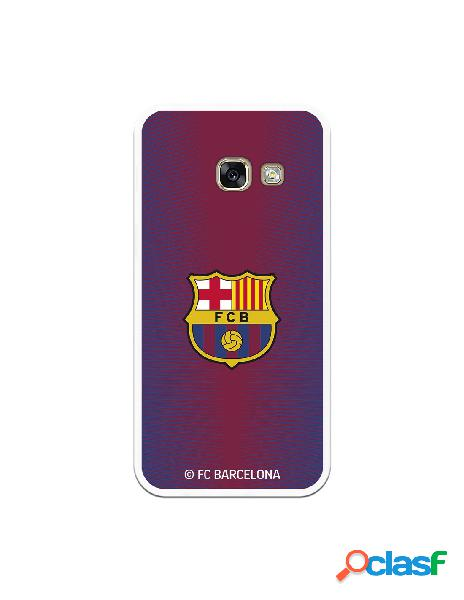 Carcasa para Samsung Galaxy A3 2017 FC Barcelona Fondo Rojo