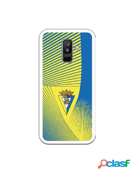 Carcasa para Samsung Galaxy A6 Plus 2018 Cádiz CF Motivo
