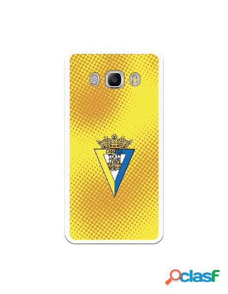 Carcasa para Samsung Galaxy J5 2016 Cádiz CF Semitono